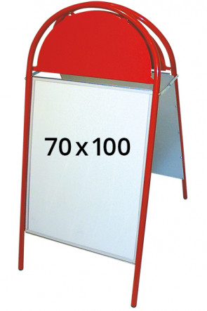 EXPO GOTIK pavement board 25mm 70x100cm red