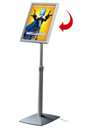 LED Adjustable Menuboard, A3 mitred