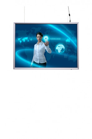 LED Light box 50x70cm Double sided - horizontal