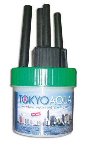 TOKYO AQUA 4 feltpens green