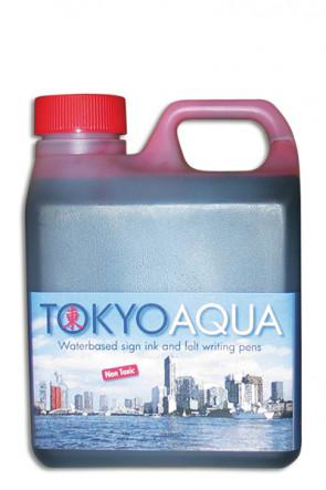 TOKYO AQUA ink 1. ltr. red