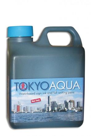 TOKYO AQUA ink 1 ltr. blue