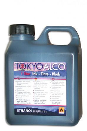 TOKYO ALCO ink black
