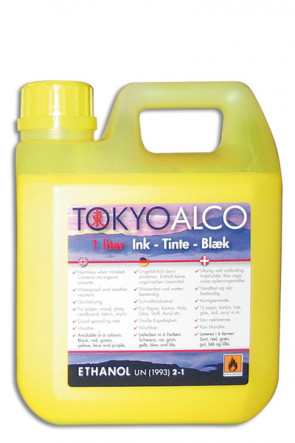 TOKYO ALCO ink yellow