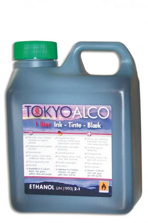 TOKYO ALCO ink green