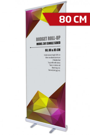 Budget Roll-up, Single Model 80 - alu