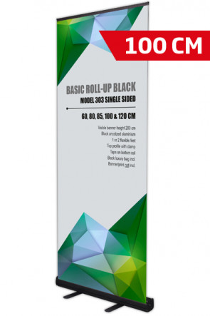 Basic Roll-up, Single Model 100 - black