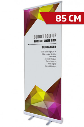 Budget Roll-up, Single Model 85 - alu