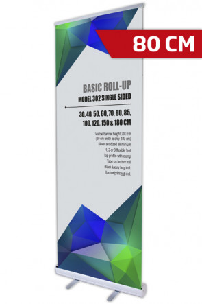 Basic Roll-up, Single Model 80 - alu