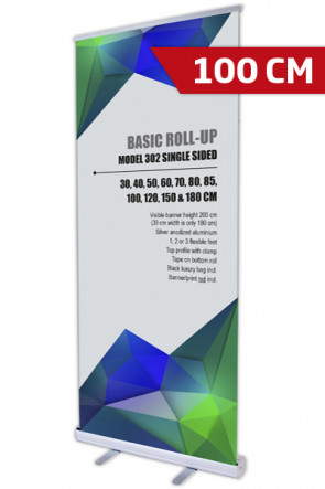 Basic Roll-up, Single Model 100 - alu