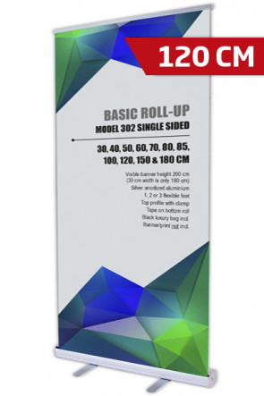 Basic Roll-up, Single Model 120 - alu