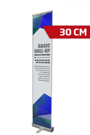 Basic Roll-up, Single Model 30 - alu