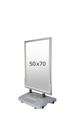 WIND-SIGN WATERBASE pavement board 45mm (M) 50x70cm alu