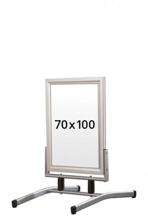 WIND-LINE LUX pavement board 45mm (M) 70x100cm alu