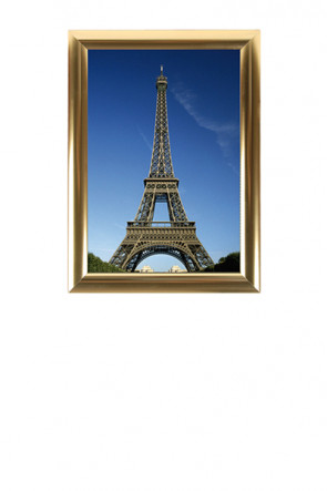 ALU SNAP FRAME 25mm (M) A3 golden anodized - glossy