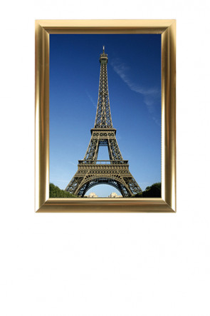 ALU SNAP FRAME 25mm (M) A2 golden anodized - glossy