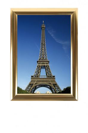 ALU SNAP FRAME 25mm (M) 50x70cm golden anodized - glossy