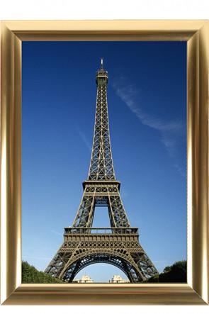 ALU SNAP FRAME 25mm (M) 70x100cm   golden anodized - glossy