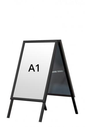 ALU-LINE BLACK pavementboard 32mm A1 (M) - Black