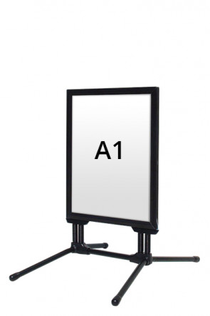 WIND-LINE BUDGET pavement board 40mm (M) A1 alu - Black