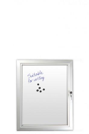 INFOBOX magnetic w/lock 4xA4