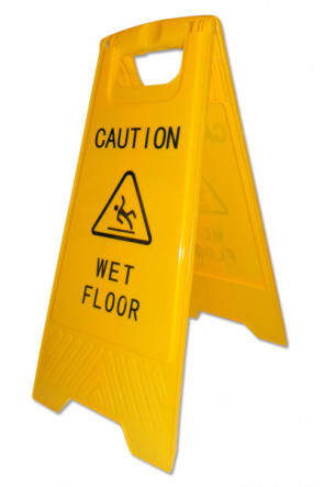 Caution Board  - with print