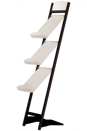 Tilted stand  3xA4 - black