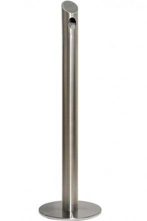 Cigarette Bin Pole  - Stainless