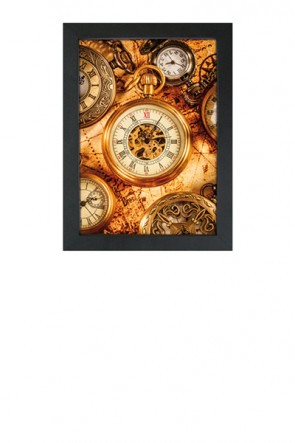 Crown Snap Frame 33 mm (M), 50x70cm, black