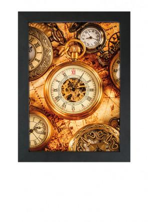 Crown Snap Frame 33 mm (M), 70x100cm, black
