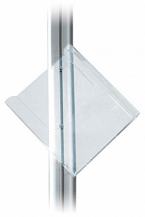MULTISTAND Acrylic shelve, A4 Tilted position