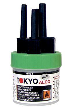 TOKYO ALCO 3 feltpen green