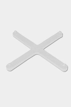 Exibit Connecting Cross - white
